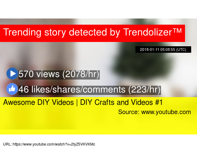 Awesome Diy Videos Diy Crafts And Videos 1